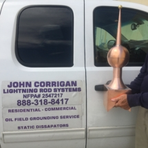 Corrigan Lightning Rods